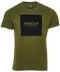 Men's Barbour International Block Tee - Vintage Green