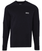 Men's Barbour International Decal L/S Tee - Black