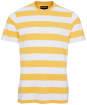 Men's Barbour Beach Stripe Tee - Sun Bleached