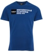 Men's Barbour International Small Block Tee - Mid Blue
