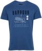 Men's Barbour Storm Tee - Washed Inky