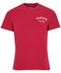 Men's Barbour Preppy Tee - Raspberry