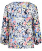 Women's Crew Clothing Linen Blouse - Garden Print