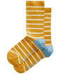 Women's Seasalt Sailor Socks - Breton Sunglow