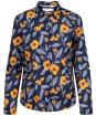 Women's Seasalt Larissa Shirt - Painted Flowers Waterline