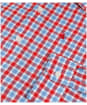 Men's Musto Riviera Long Sleeve Shirt - Harrison Red Check