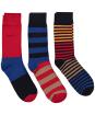 Men's GANT Striped Socks Giftbox - Bright Red