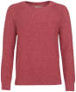Women's Barbour Shoreline Knit Sweater - Mulberry