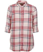 Women's Barbour Baymouth Shirt - OYSTER PINK CHK