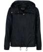 Women's Barbour International Solitude Showerproof Jacket - Black