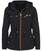 Women's Barbour International Sugo Showerproof Jacket - Black