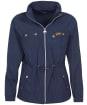 Women's Barbour International Sugo Showerproof Jacket - Metallic Blue