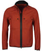 Men's Barbour International Belsfield Casual Jacket - Clay Red