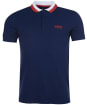 Men's Barbour International Ampere Polo - Dress Blue