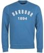Men's Barbour John Crew Sweatshirt - Pigment Blue