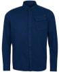 Men's Barbour International Garment Dyed Shirt - Dress Blue
