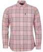 Men's Barbour Tartan 18 Tailored Shirt - Faded Pink