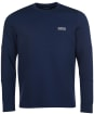 Men's Barbour International Decal L/S Tee - Dress Blue