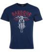 Men's Barbour International Motorbike Tee - Dress Blue