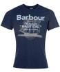 Men's Barbour Vessel Tee - Navy