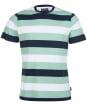 Men's Barbour Edwards Stripe Tee - Navy