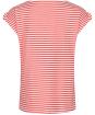 Women's Lily & Me Surfside Tee - Papaya Stripe