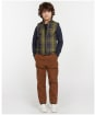 Boy's Barbour Finn Gilet - Classic Tartan