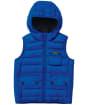 Boy's Barbour International Ouston Hooded Gilet - Cobalt Blue