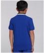 Boy's Barbour International Ampere Polo Shirt - Atlantic Blue
