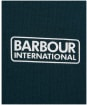 Boy's Barbour International Ampere Polo Shirt - Benzine Green