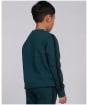 Boy's Barbour International Tape Sweater – 6-9yrs - Benzine