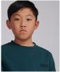 Boy's Barbour International Tape Sweater – 10-15yrs - Benzine