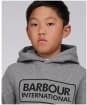 Boy's Barbour International Tracksuit – 6-9yrs - Grey Marl