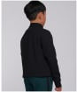 Boy's Barbour International Halt Half Zip Sweat - Black
