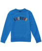 Boy's Barbour Oliver Crew Sweater - Frost Blue