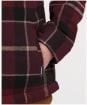 Boy's Barbour Tartan Overshirt, 6-9yrs - Winter Red Tartan