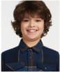 Boy's Barbour Tartan Overshirt, 6-9yrs - Midnight Tartan