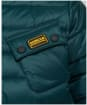 Boy's Barbour International Ouston Hooded Quilted Jacket, 10-15yrs - Benzine