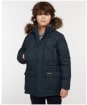 Boy's Barbour Holburn Quilted Jacket - Navy