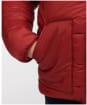 Boy's Barbour Hike Quilted Jacket - Biking Red