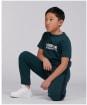 Boy's Barbour International Tape Track Pants – 10-14yrs - Benzine Green