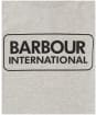 Boy's Barbour International Essential Large Logo Tee, 6-9yrs - New Grey Marl