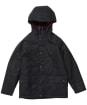 Boy's Barbour Hooded Beaufort Wax Jacket - Navy