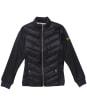 Girl's Barbour International Everly Sweat Jacket - Black