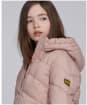 Girl's Barbour International Montegi Quilt - Rose Quartz