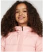 Girl's Barbour Bayside Quilted Jacket - Secret Pink
