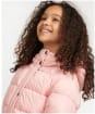 Girl's Barbour Crimdon Quilted Jacket - Secret Pink