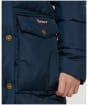 Girl's Barbour Beresford Quilted Jacket - Navy