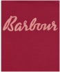 Girl's Barbour Rebecca Frill L/S Tee 10-14yrs - Beet Red