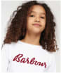 Girl's Barbour Rebecca Frill L/S Tee 10-14yrs - White